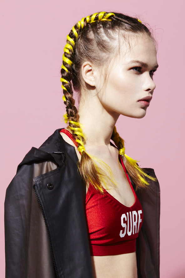 SPORTY HAIR BOXER BRAIDS